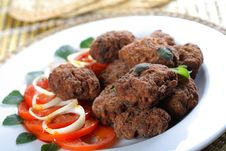 Free Mince Cutlets Stock Image - 2432911