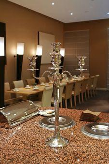Free Restaurant Interior Royalty Free Stock Photos - 2433858