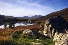 Free Snowdon In Autumn Royalty Free Stock Photography - 2434317