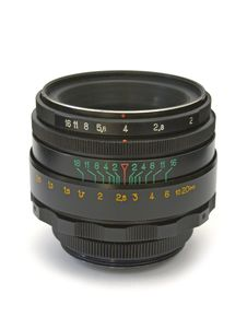 Free Lens For Slr Camera Royalty Free Stock Photos - 2434348