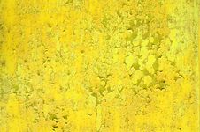 Free Yellow Metal Surface Stock Photography - 2435672