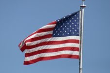 Free American Flag Royalty Free Stock Photography - 2436027