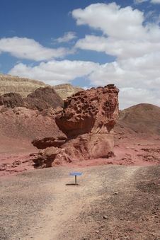 Free Timna Park - Red Rock Stock Image - 2437101