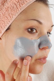 Beauty Mask 21 Stock Images
