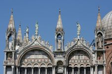 Free Detail Of Saint Mark Basilica Stock Photography - 2439002
