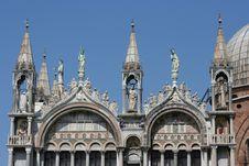 Free Detail Of Saint Mark Basilica Stock Photography - 2439002