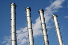 Factory Chimney Stock Photos
