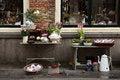 Free Flea Market On The Street Of Middelburg, Netherlands Royalty Free Stock Photo - 24301155