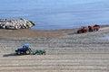 Free Tractor Sea Beach Royalty Free Stock Photos - 24301738