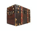 Free Antique Closed Chest Isolated Royalty Free Stock Photo - 24308965