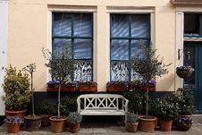 Free Romantic Windows Along The Street Stock Image - 24300441