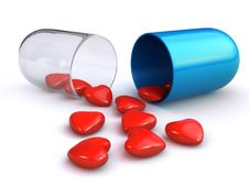Love Pill Stock Images