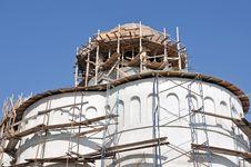 Free Church Construction Royalty Free Stock Photo - 24306325