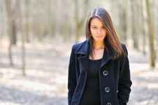 Free Closeup Of A Pretty Young Woman Royalty Free Stock Photos - 24308238