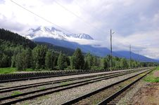 Free Railway Station In Canada. Royalty Free Stock Image - 24308996