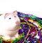Free Mardi Gras Piggy Bank Royalty Free Stock Photo - 24309215