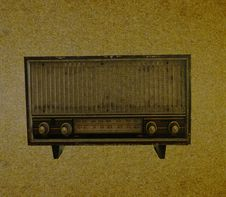 Free Radio Retro Stock Photography - 24312032