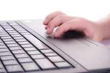 Laptop Work Stock Photos