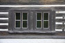Free Cottage Windows Royalty Free Stock Image - 24317246