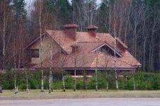 Free Posh House In Forest Stock Photo - 24317880