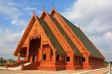 Free Thai Temple Royalty Free Stock Photo - 24319335