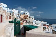 Free Traditional Village Of Oia At Santorini Stock Photos - 24322133