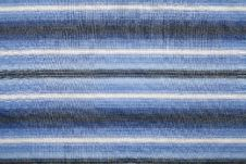 Free Blue Striped Fabric Royalty Free Stock Images - 24323199