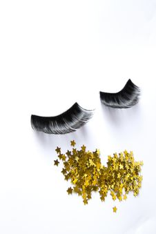 Free False Eyelashes Stock Photography - 24324072