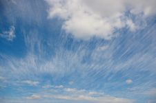 Free Beautiful Cloudscape Royalty Free Stock Photography - 24324977