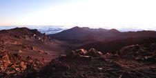 Free Minutes Before Sunrise At Haleakala Crater On Maui Stock Photography - 24326682