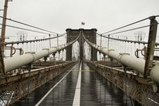 Free Brooklyn Bridge Royalty Free Stock Photos - 24328478