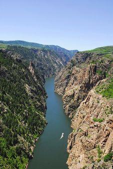 Free Gunnison Gorge, Colorado Stock Image - 24328561