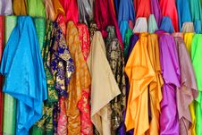 Free Colorful Luxury And Expensive Clothes Royalty Free Stock Photo - 24329125