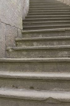 Free Old Baroque Stone Steps Stock Images - 24330764