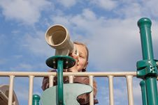 Free Fun At The Playground Royalty Free Stock Photography - 24332587