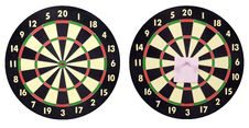Free Dart Boards Stock Photography - 24333072