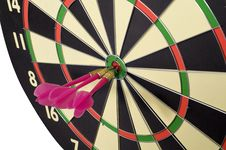 Free Dart Game Royalty Free Stock Photo - 24333105