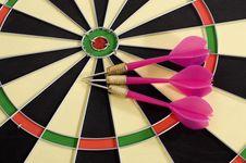 Dart Game Stock Image