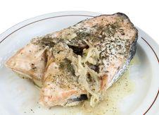 Baked Salmon Stock Photos