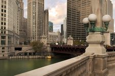 Free View Of Modern Chicago Royalty Free Stock Photo - 24333985