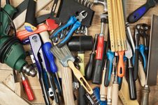 Free Tools Stock Photo - 24334600
