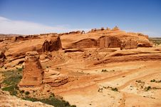 Arches National Park In Utah Stock Image