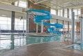 Free Pool Slide Royalty Free Stock Image - 24346726