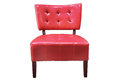Free Vintage Red Armchair Stock Photography - 24348822