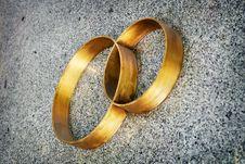 Free Wedding Rings Royalty Free Stock Photos - 24342698