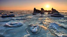 Free Frozen Sea Royalty Free Stock Photo - 24344975