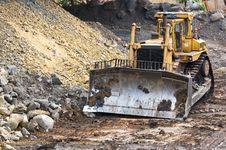 Free Bulldozer Machine Stock Photos - 24347313