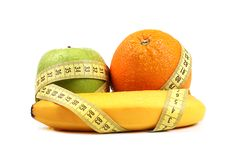 Free Fruit Diet Concept Royalty Free Stock Photography - 24351727