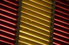 Free Spanish Flag Window Stock Photo - 24352010
