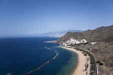 Teresitas Beach, Tenerife, Canary Islands Stock Image